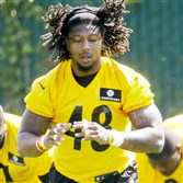 Linebacker Bud Dupree is trying to adjust to the physical demands of the NFL.