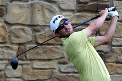 Andrew Landry's 66 had him tied for the lead at Oakmont.