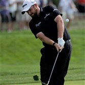 Shane Lowry leads the U.S. Open after three rounds.