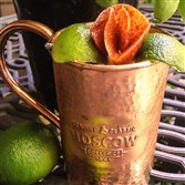 The Diablo Mango Mule by bartender Kimber Weissert of Wallace's Tap Room in East Liberty.