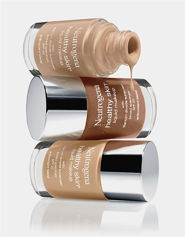 Neutrogena_HealthySkin Neutrogena recently added more more foundation options to its Healthy Skin liquid makeup line to help women find a better match for their skin tone.