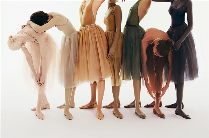 Christian Louboutin ballet flats Christian Louboutin's Nudes collection has expanded to include ballet flats in a range of shades to cater to diverse skin tones.