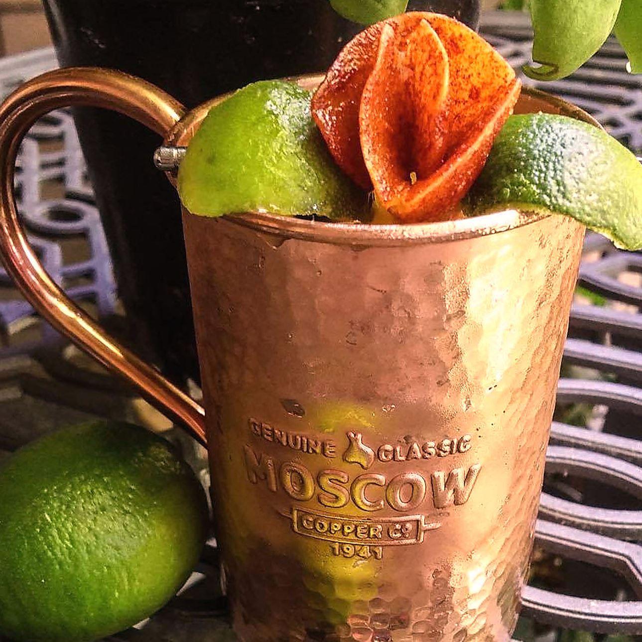 diablo_mango_mule_01 The Diablo Mango Mule by bartender Kimber Weissert of Wallace's Tap Room in East Liberty.