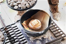 Cast-iron bread baking demonstrations will take place at the historic gristmill at McConnells Mill State Park on Sunday.