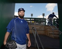 Blackhawk graduate Adam Liberatore has made it to the major leagues with the Los Angeles Dodgers.