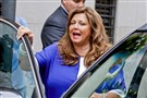 """Dance Moms"" star Abby Lee Miller gets into a vehicle after leaving federal court in June in Downtown."