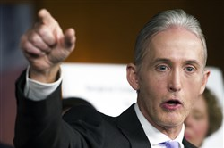 Rep. Trey Gowdy, R-S.C., the chairman of the House Benghazi Committee, discusses Tuesday the release of his final report on the 2012 attacks that took place at the U.S. consulate in Benghazi, Libya.