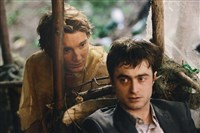 "Paul Dano, left, and Daniel Radcliffe in ""Swiss Army Man."""