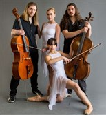 "Texture Contemporary Ballet joins Cello Fury for ""Interfusion"" at the New Hazlett Theater."