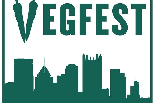 Vegfest logo.