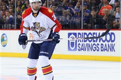 The Penguins signed former Panthers left winger Garrett Wilson to a one-year, two-way contract.