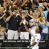 Josh Bell's grand slam Saturday against the Cubs was the pinnacle of his tremendous debut weekend.