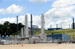 Natural gas processing facility in Houston, Washington County.