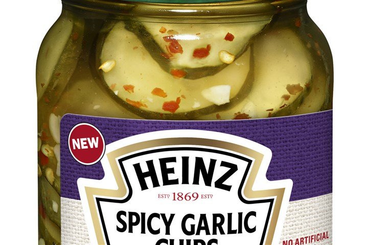 pickles0713_heinz_spicy_garlic pickles0713 Heinz spicy garlic chips