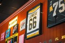 There's never a shortage of Pittsburgh sports memorabilia at Giuseppi's Pizza on Hilton Head Island, S.C.