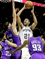 Tim Duncan was selected to the All-NBA first team 10 times in his career.