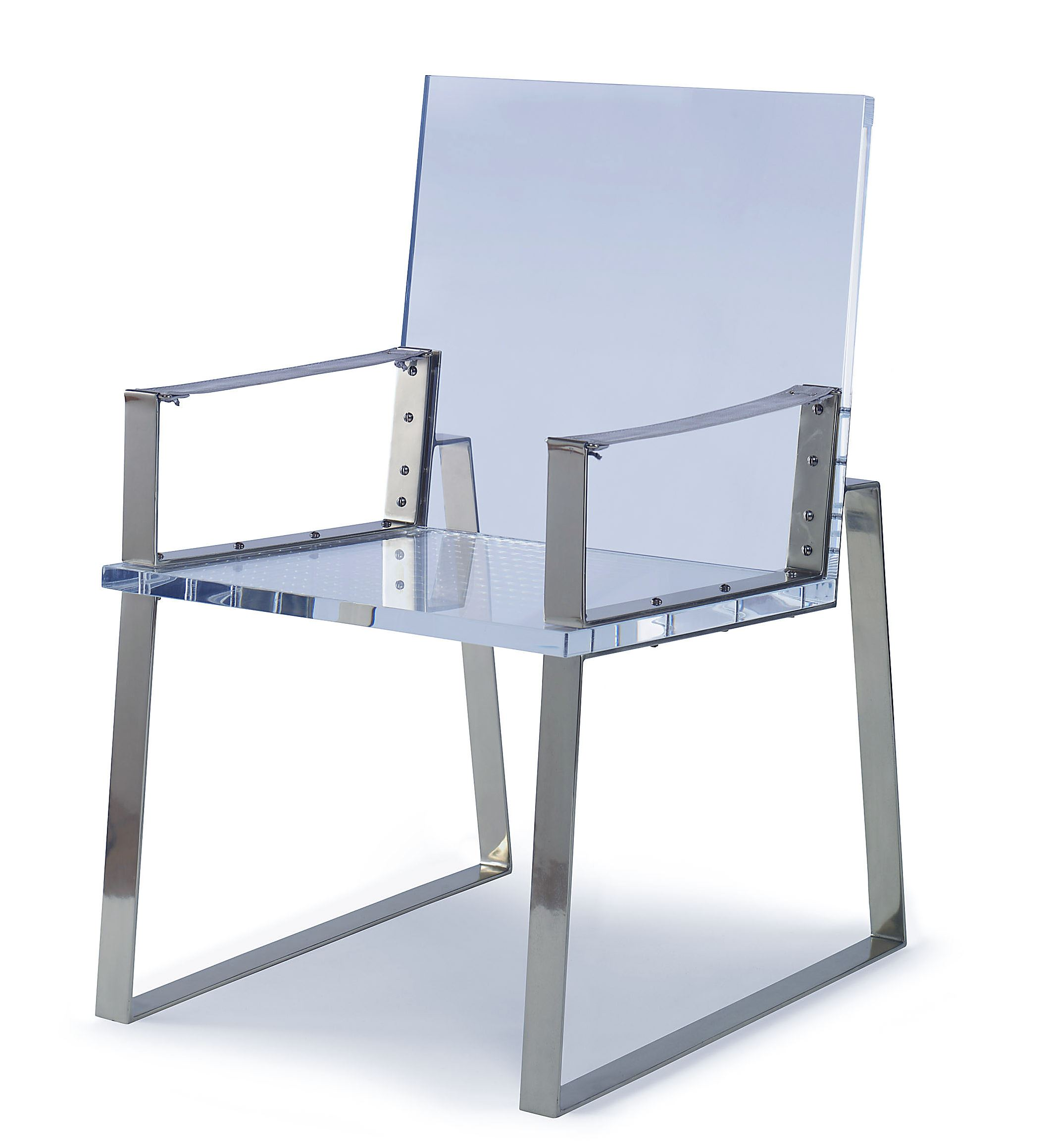 Global Views Acrylic Chair: See-through Furniture Is A Clear Favorite With Designers