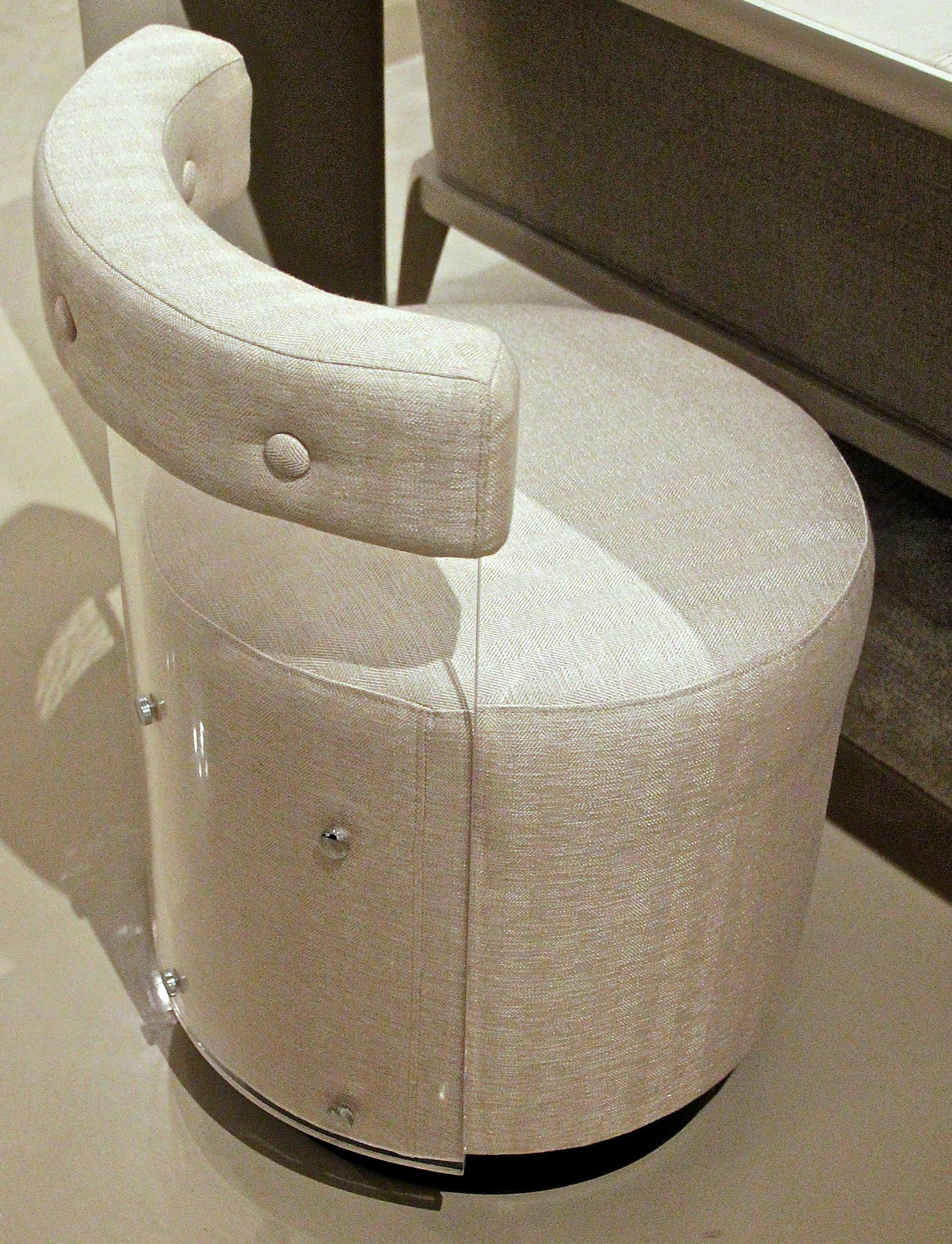 See through furniture is a clear favorite with designers