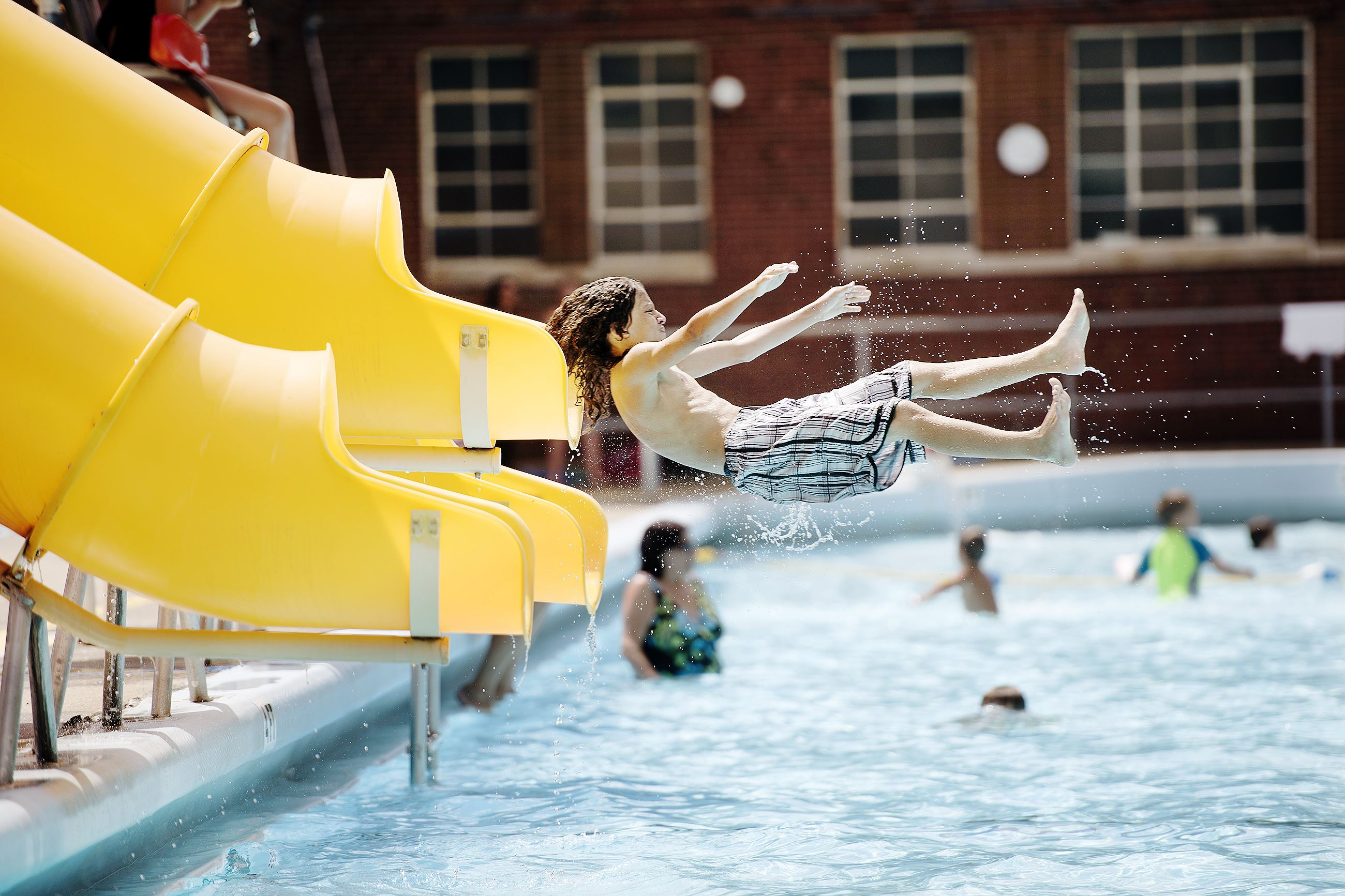 End of summer means the end of county pools pittsburgh post gazette for Local swimming pools with slides