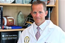 "Michael ""Micky"" Collins, director of the UPMC Sports Medicine Concussion Program, is one of the researchers in the study."
