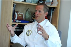 "Michael ""Micky"" Collins, director of the UPMC Sports Medicine Concussion Program."
