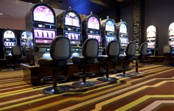 The High Limit Slots area in the Rivers Casino.