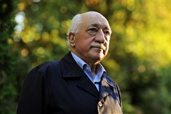 Turkish Islamic preacher Fethullah Gulen is pictured at his residence in Saylorsburg in Monroe County.