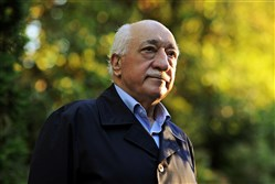 Turkish Islamic preacher Fethullah Gulen is pictured at his residence in Saylorsburg in Monroe County, Pennsylvania.