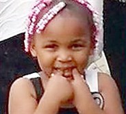 Isis Allen, the 6-year-old girl who was critically wounded in a shooting Sunday night in Knoxville.
