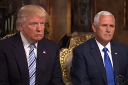 "Donald Trump doesn't need Mike Pence to shore up support among evangelicals. Here they appear on ""60 Minutes"" for their first interview as running mates."