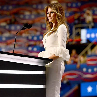 Will the fashion community warm up to Melania Trump?