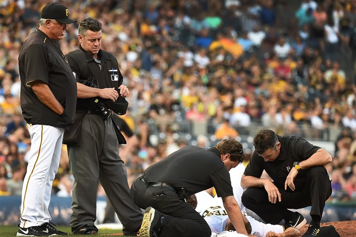 Pirates' Taillon 'doing well' after line drive to head