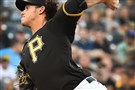 Pirates starter Jeff Locke delivers Wednesday against the Brewers at PNC Park.