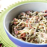 Sweet and Spicy Pickle Slaw.