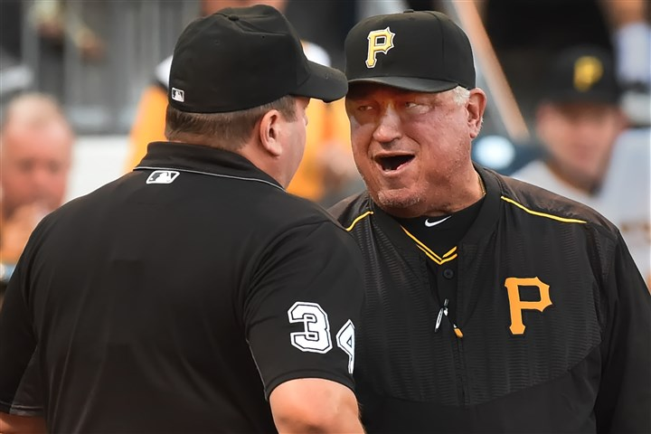 Pirates manager Hurdle has strategy for challenging calls