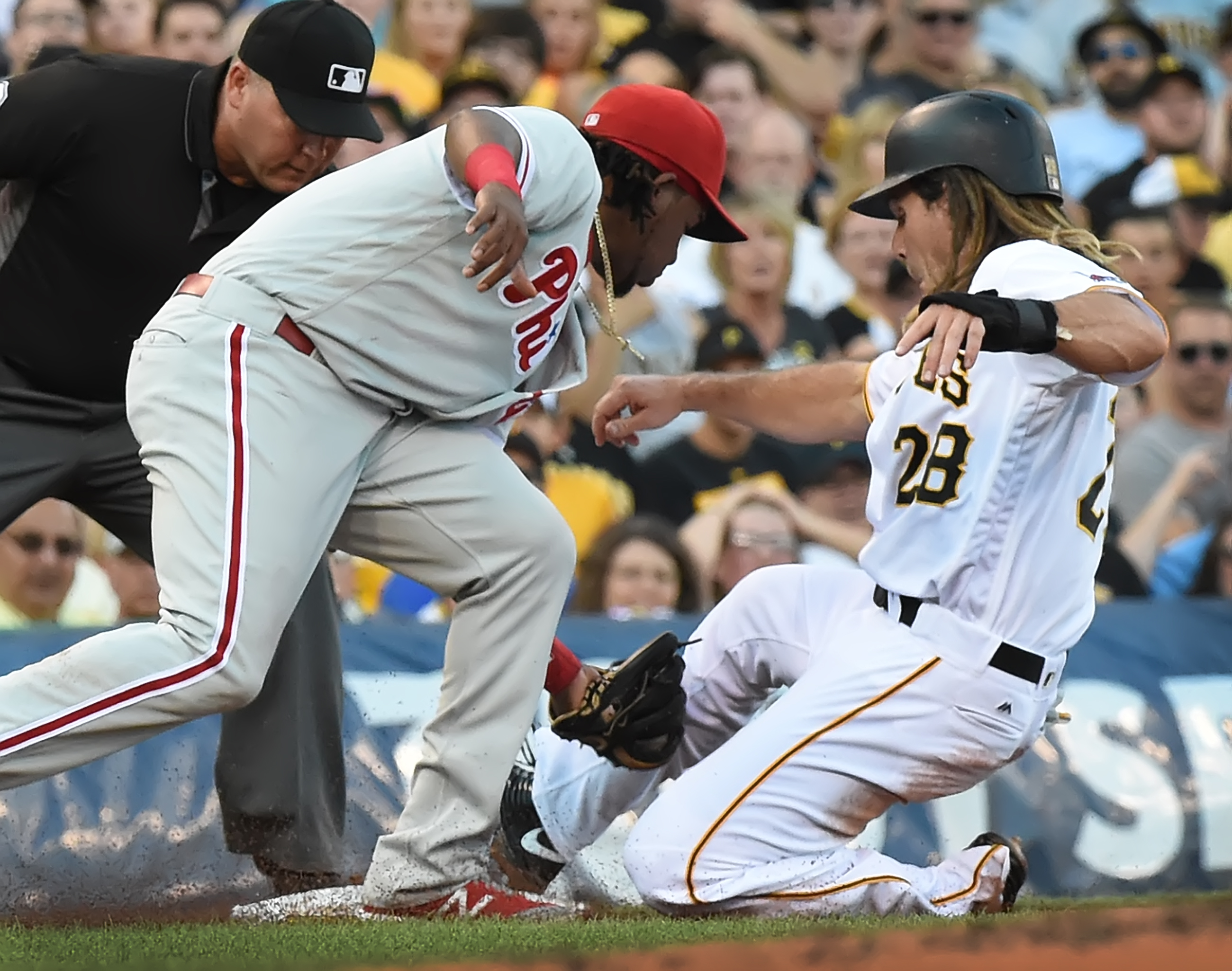 John Jaso back in leadoff spot as Pirates rookie Tyler Glasnow makes home debut