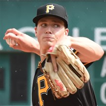 PiratesTyler Glasnow delivers against the Phillies at PNC Park.