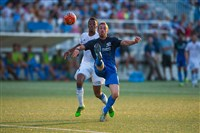 Riverhounds midfielder Corey Hertzog now has 15 career goals for the club.