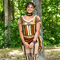Norwin graduate Angie Mayhue is in her third season in Carolina Crown's color guard.