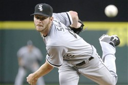 Chris Sale was traded to the Boston Red Sox on Tuesday.