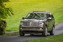 The 2016 Lincoln Navigator remains a welcoming full-size luxury SUV, and is powered by a 380-horsepower V-6.