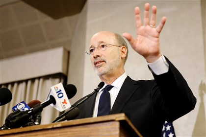 "Gov. Tom Wolf called the opioid epidemic ""an invisible problem"" with concrete ramifications."