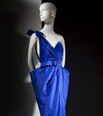 Thierry Mugler silk taffeta dress with belt from the Emphatics archive.