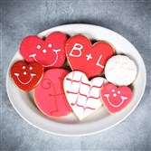 Eat 'n Park now offers customized Smiley Cookies for Pittsburgh Cookie Tables at weddings and bridal showers.