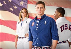 Team USA athletes will be outfitted by Polo Ralph Lauren.
