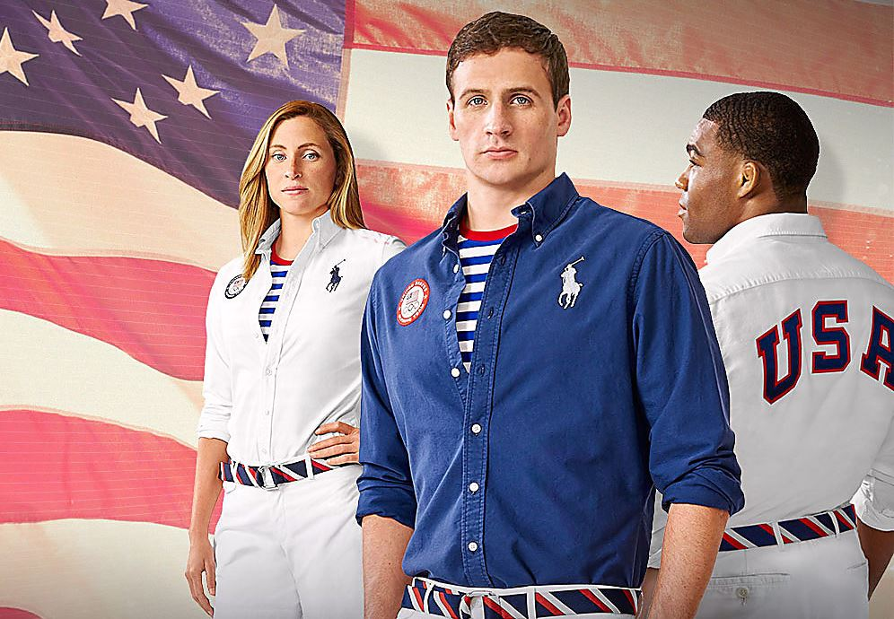 Team USA wears Polo Ralph Lauren Rio 2016 Team USA athletes will be outfitted by Polo