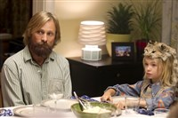 "Viggo Mortensen left, stars as Ben and Shree Crooks as Zaja in ""Captain Fantastic."""