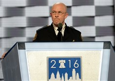 """We can respect and support our police officers while at the same time pushing for these important criminal justice reforms,"" Pittsburgh police Chief Cameron McLay told the audience Tuesday at Philadelphia's Wells Fargo Center. ""We can do both and we will do both."