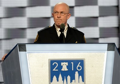 Pittsburgh police chief gets moment on DNC stage