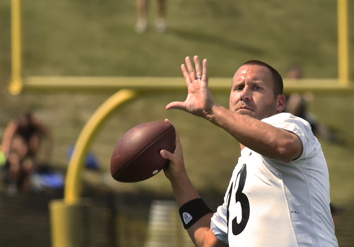 Beny Roethlisberger, Beny Roethlisberger St. Vincents, Steelers 2017 training camp